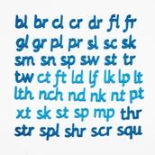 Magnetic Foam Phonics Letters - Set 2