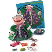 Old Lady Puppet, Book and CD Set