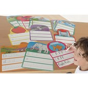 Write and Wipe Alphabet Cards - Pack of 26