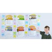 Writing Modes Bulletin Board