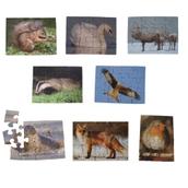 Just Jigsaws British Wildlife Jigsaws - Pack of 8