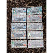 Outdoor Forest School Signs - pack of 10