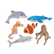 Under The Sea Finger Puppets Set 6 - pack of 6