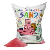Coloured Sand - Red 15kg Bag