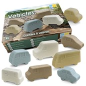 Yellow Door Little Lands: Vehicles - Pack of 8