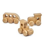 Wooden Trains Set from Hope Education - Pack of 3