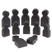 Chalkboard People from Hope Education - Pack of 12