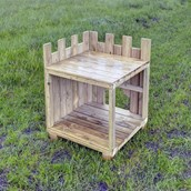 Outdoor Wooden Castle from Hope Education