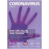 Coronavirus A3 S A Poster