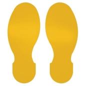 300mm Footprints Floor Signs - pack of 10
