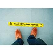 Safe Distance Tape - 48mm x 66m