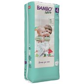 Bambo Nature Nappies Maxi TB Size 4 - pack of 144