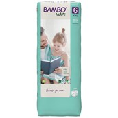 Bambo Nature Nappies XL- Plus TB Size 6 - pack of 120