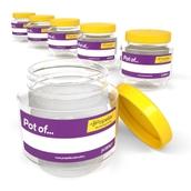 425ml Round Storage Jar - pack of 6