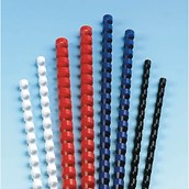 Plastic Combs - 10mm - White