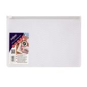 Snopake EPPE Mesh Zippa-Bags White A5 - pack of 5