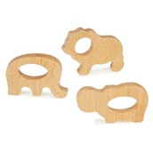 Wooden Grasping Toys - Wild Animals from Hope Education