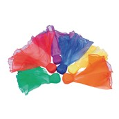 Scarf Beanbags - Assorted - Pack of 6