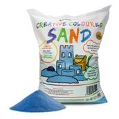 Coloured Sand - Blue 15kg Bag