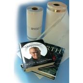 Clear W230 x L75 metre Book Covering