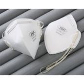 Disposable, Foldable White Dust Mask