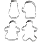Christmas Cookie Cutters - Set B