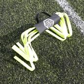 Sensible Soccer Flat Hurdles - Pack of 6