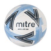 Mitre Impel Lite Football - White/Blue - Size 4 - 290g