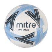 Mitre Impel Lite Football - White/Blue - Size 5 - 360g