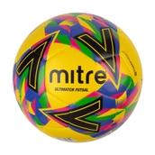 Mitre Ultimatch Futsal Football - Yellow