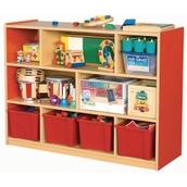 8 Compartment Cabinet