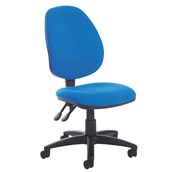 High Back Operator's Chair - No Arms
