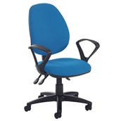 High Back Operator's Chair - Fixed Arms