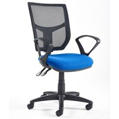 Altino High Back Operator's Chair - Fixed Arms