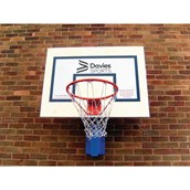 Outdoor Wall Mounted Basketball Board and Ring