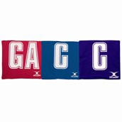 Gilbert Netball Patch Bib - One Size - Pack of 7 (Pairs)