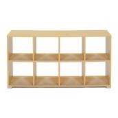 8 Cube Room Divider - Horizontal