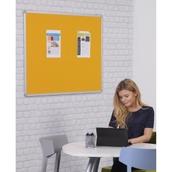 Accents FlameShield Aluminium Framed Noticeboard