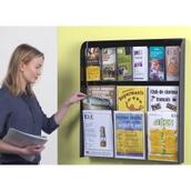 Crystal-Clear Leaflet Dispenser
