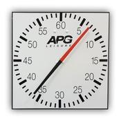 APG Pace Clock - White/Black