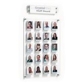 Crystal Wall Staff Boards