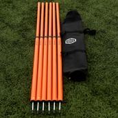Sensible Soccer Boundary Poles - Pack of 6