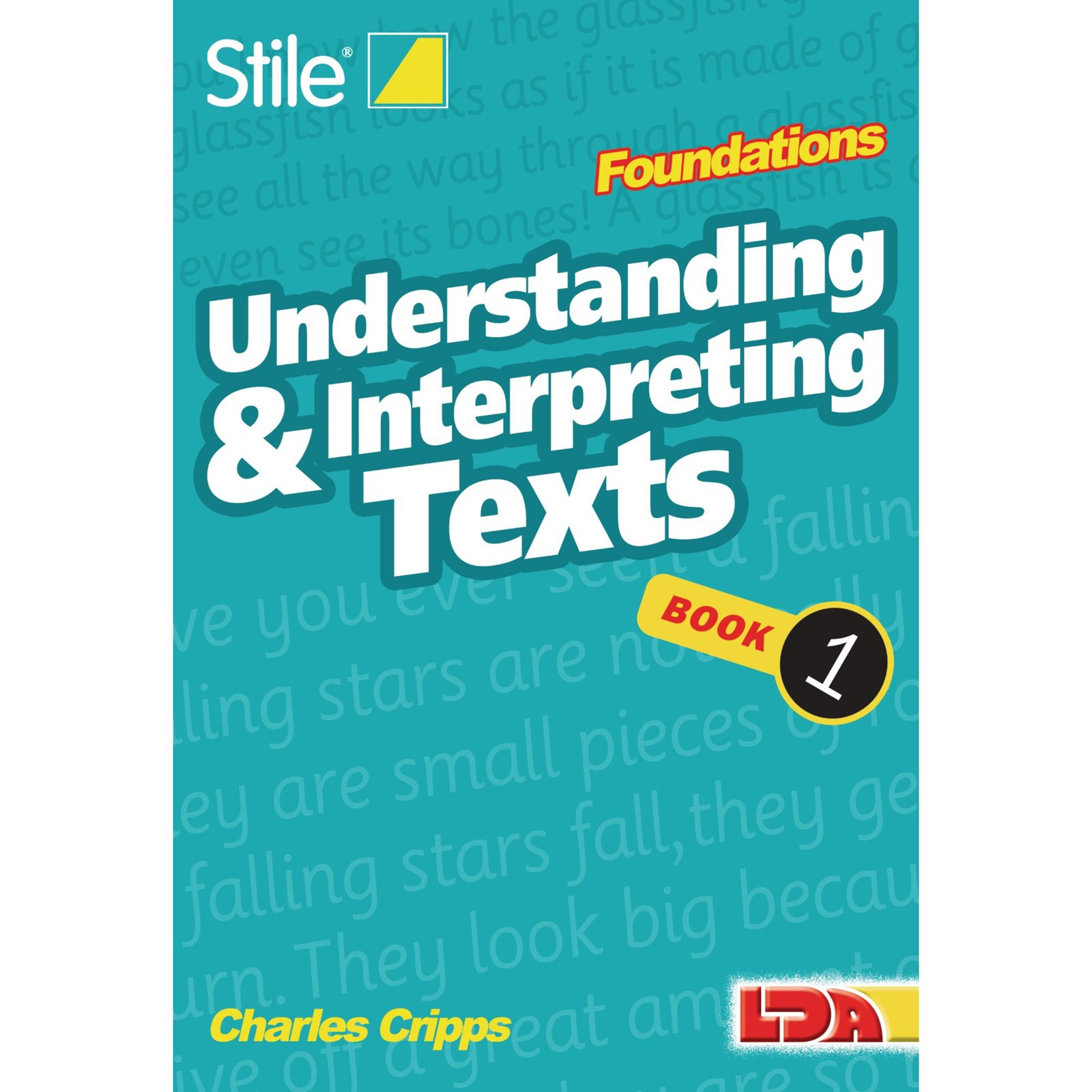 Stile Understanding and Interpreting Texts Foundations - Single Pack