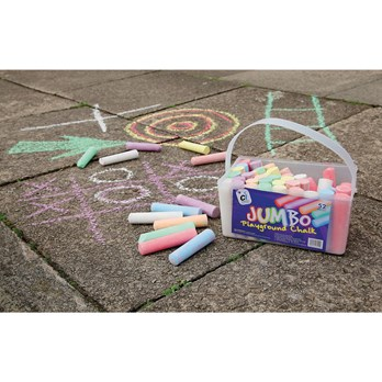 Classmates Jumbo Sidewalk Chalk - Pack of 52 - HE101380 | Hope ...
