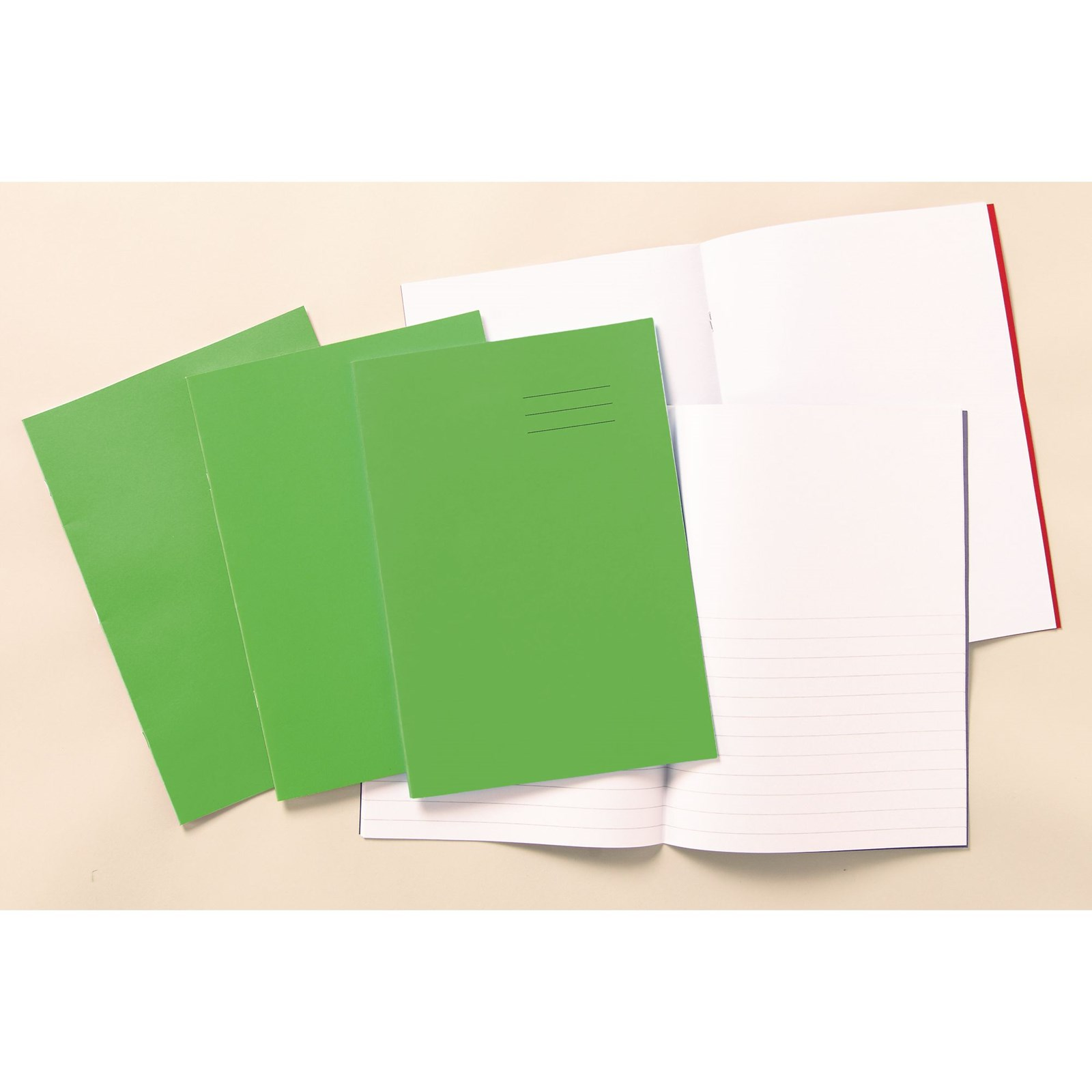 Classmates Red A4 Exercise Book 32-Page, Plain - Pack of 100