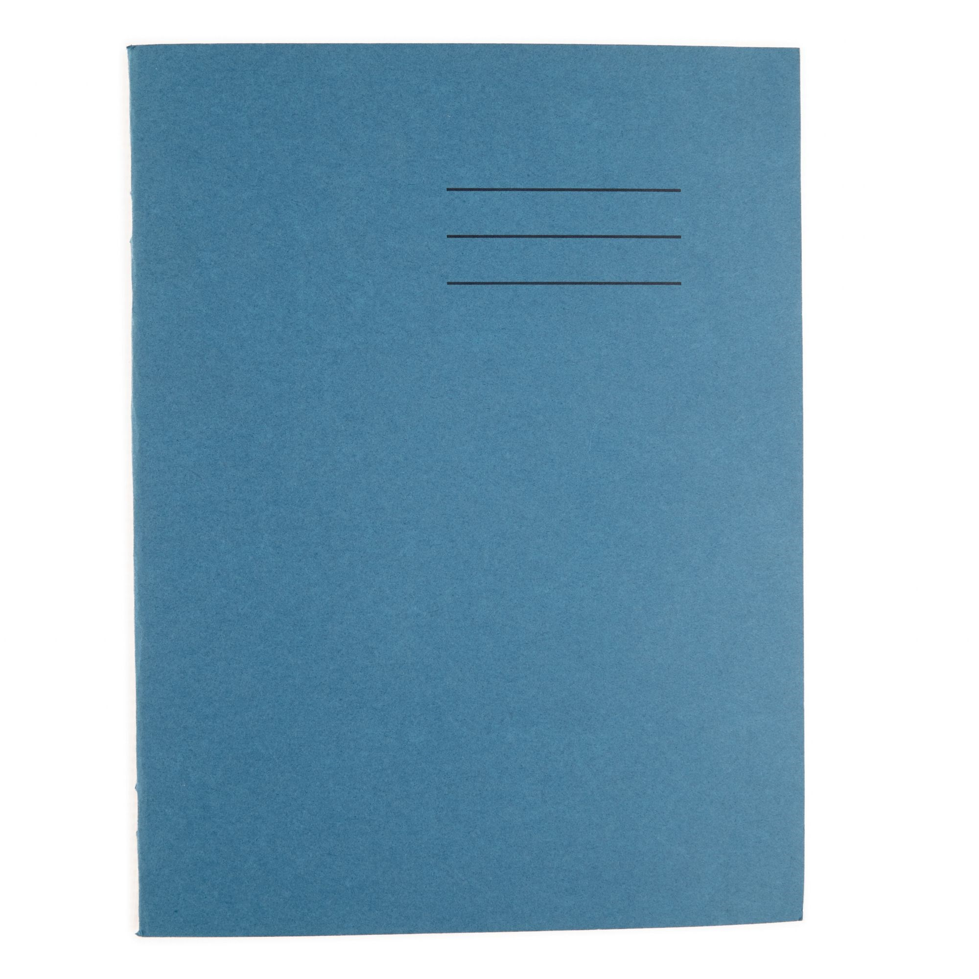 A4 Exercise Book 80 Page 10mm Squared Light Blue (Pack of 50)