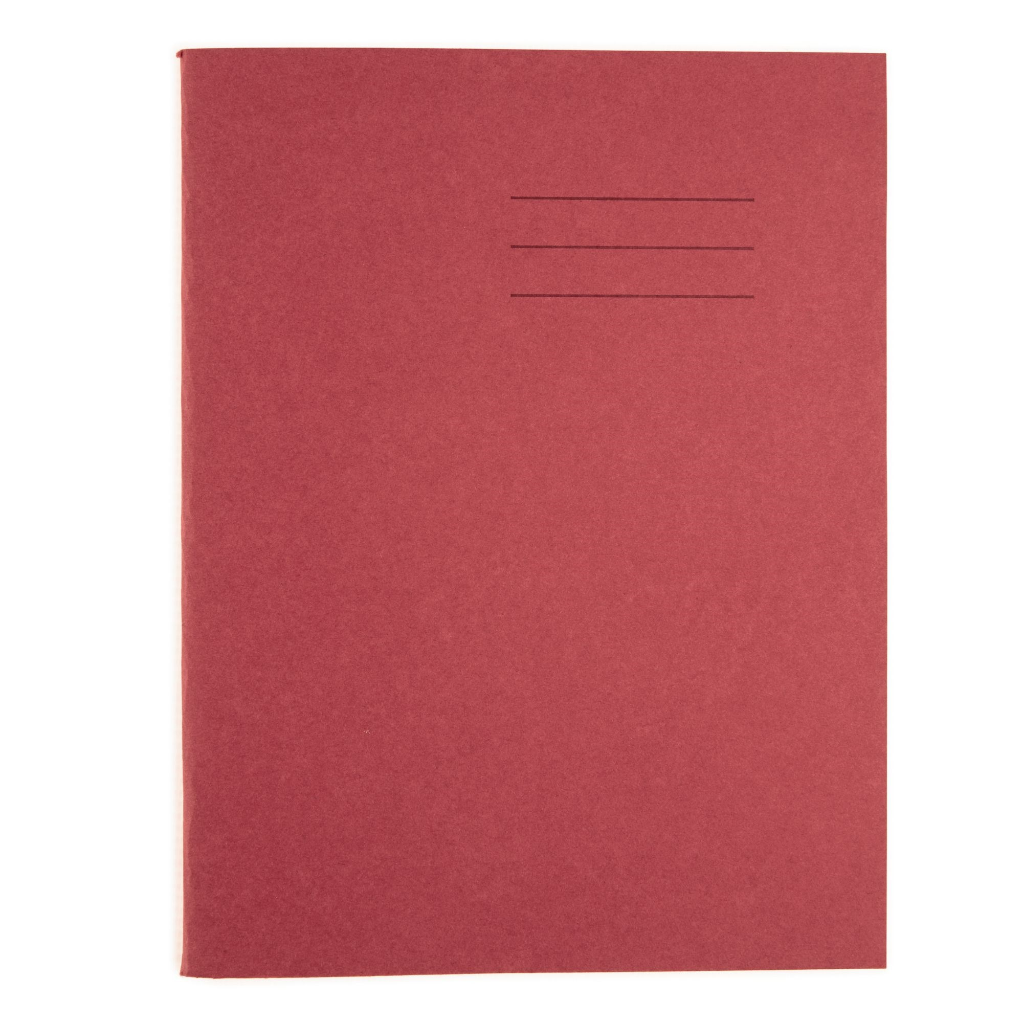 """Classmates Red 9x7"""" 48 page 8mm Ruled Exercise Book (Pack of 100)"""