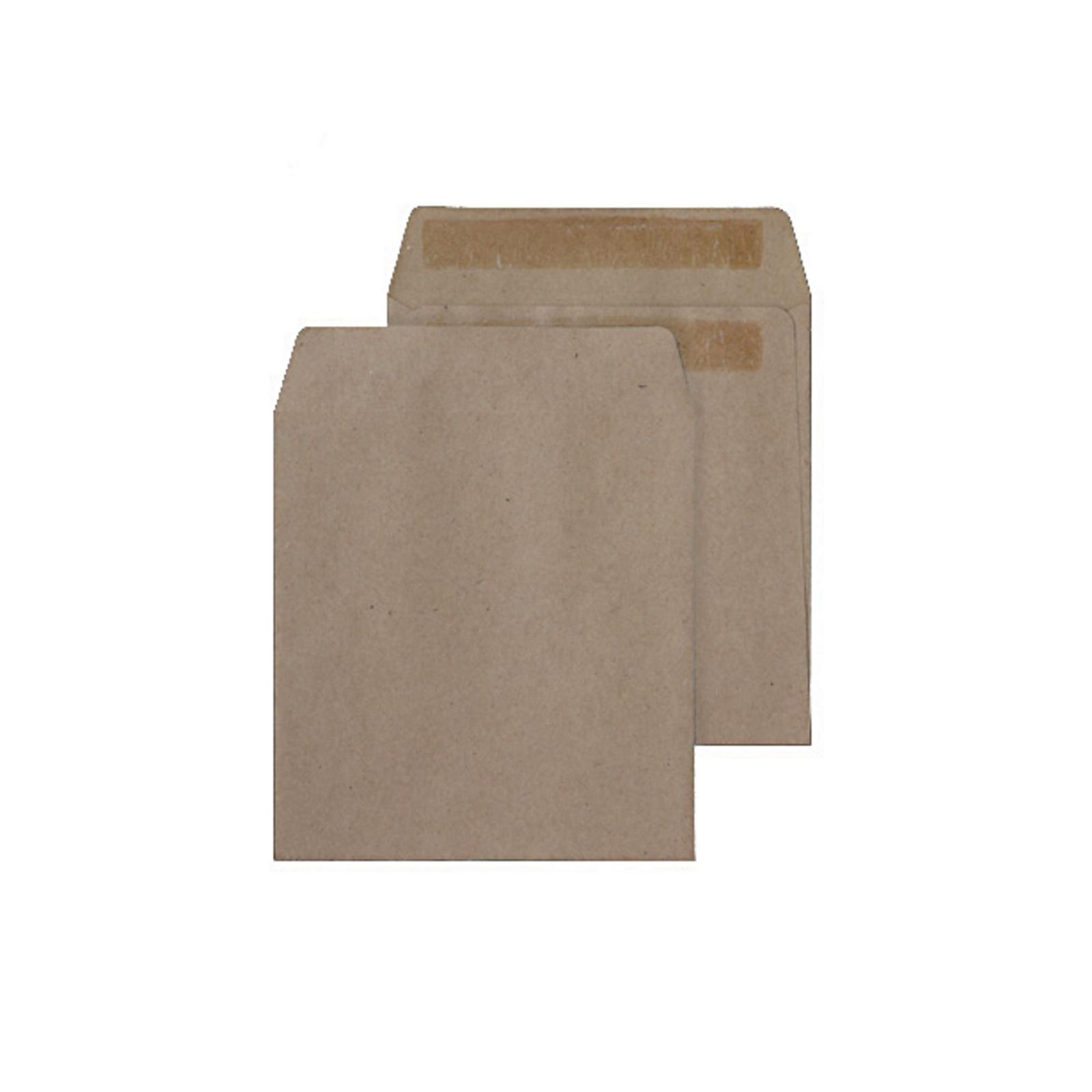 Manilla Buff Gummed Pocket Envelopes - Box of 1000