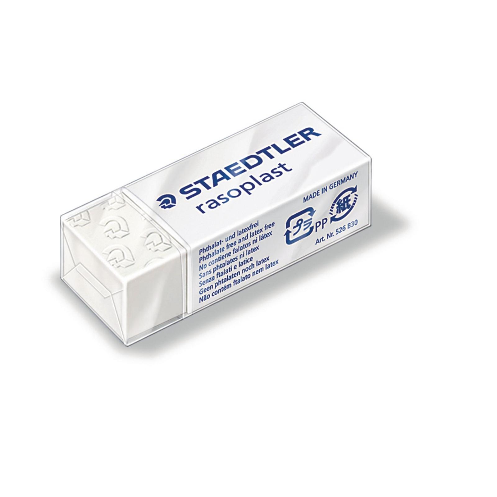 Staedtler Rasoplast Eraser SmallWhite - Pack of 30