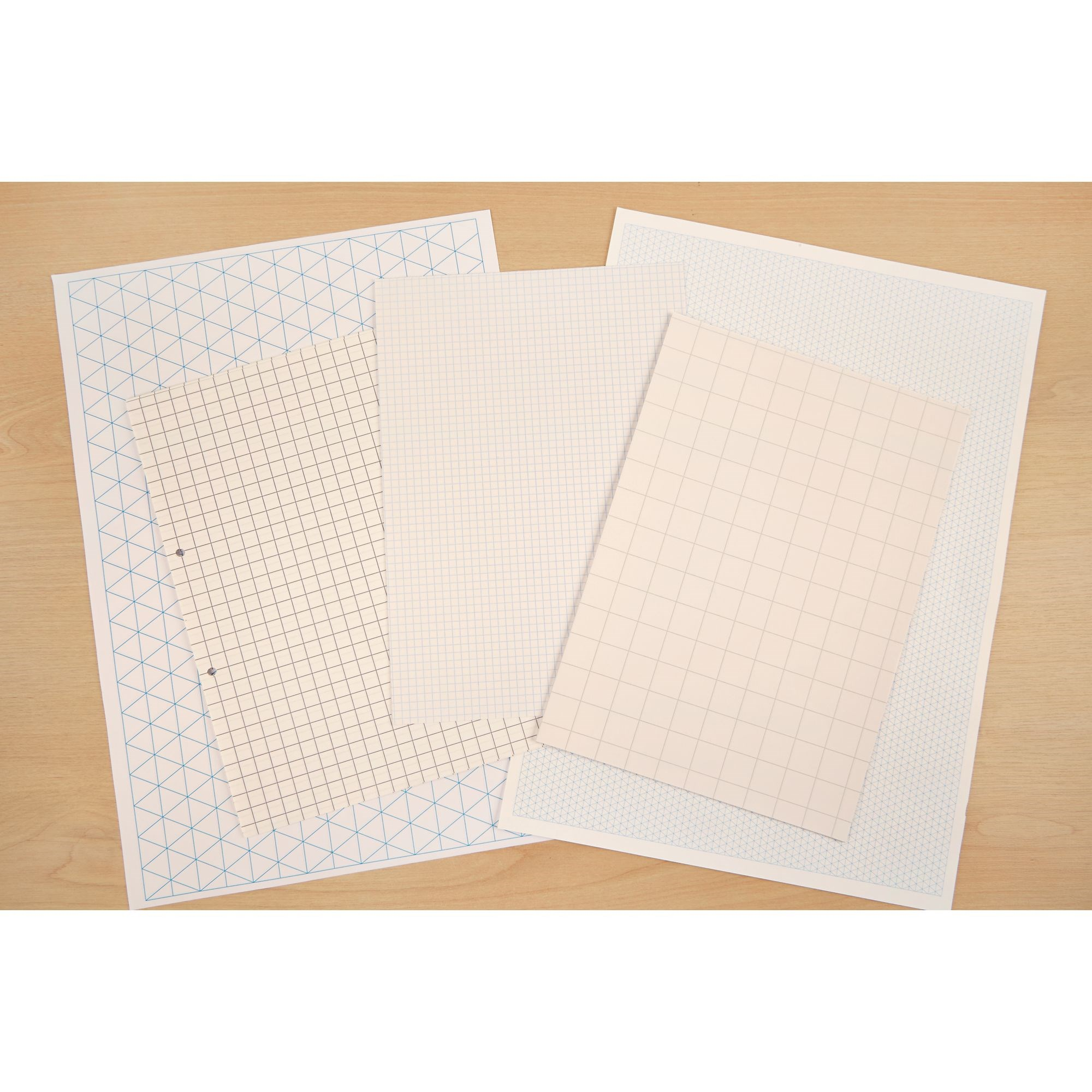 A4 Exercise Paper 10mm Squared 2 Hole Punched (Pack of 500)